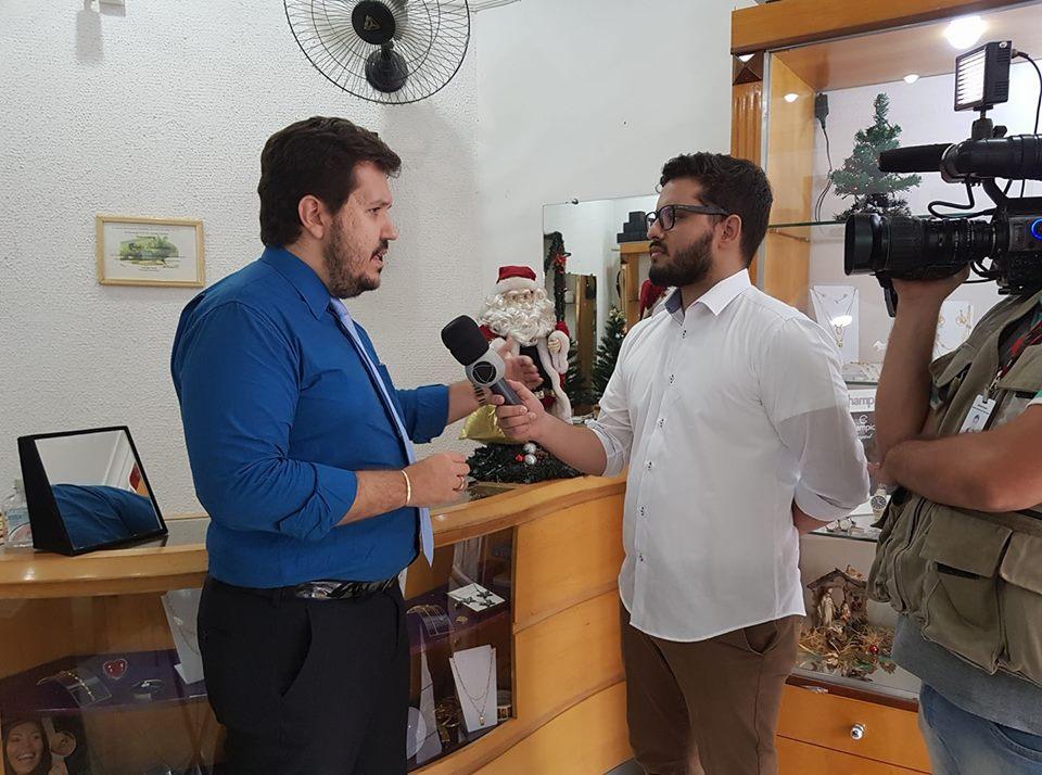 Entrevista sobre parcelamento do IPVA